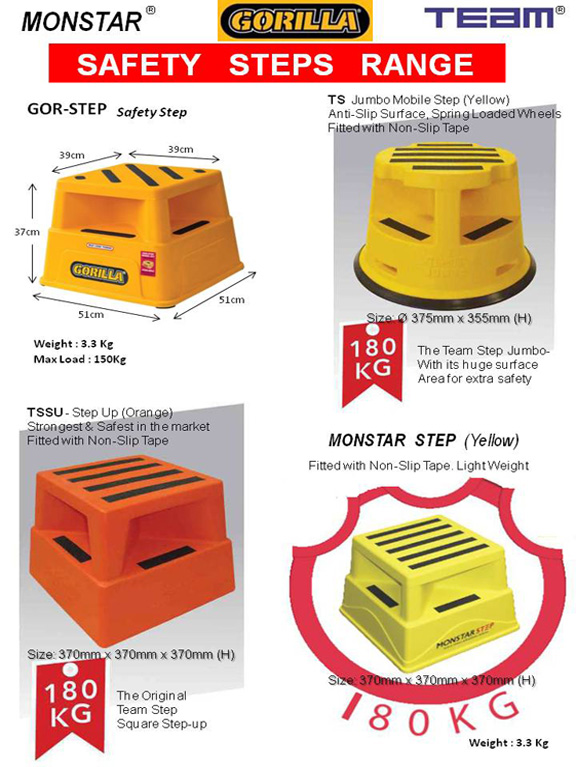 Kick Step Stool Amp Mobile Step Koon Liang Trading Co